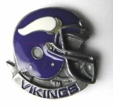 MINNESOTA VIKINGS NFL FOOTBALL HELMET LOGO LAPEL PIN BADGE 1 INCH