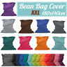 Adult Oxford Bean Bag Chair Bed Cover Lazy Lounger Sofa Cover Waterproof Large
