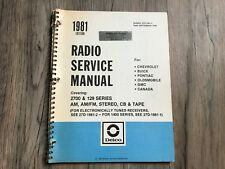 delco radio am fm in manuals literature ebay rh ebay ca Delco Radio Pinout Delco Radio Color Codes