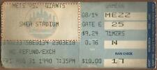 Matt Williams HR #61 8/31/90 Giants at Mets Ticket Stub Frank Viola W #134