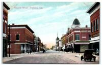 Early 1900s Second Street, Pomona, CA Postcard