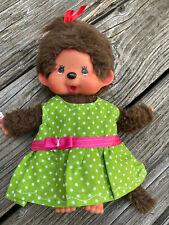 KLEIDUNG Kleid Tunika für Monchichi Teddy Bär Gr. 20 cm Bekleidung schickimicki