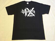 OPERA IX logo SHIRT L,Elite,Graveland,Vredehammer,Satanic Warmaster,Inquisition