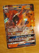 LP Pokemon VOLCARONA GX Card COSMIC ECLIPSE Set 35/236 SM Sun Moon Ultra Rare