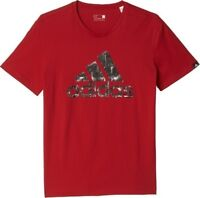 adidas Performance Urban Logo Tee Sizes S-M Red RRP £25 BNWT AY7228