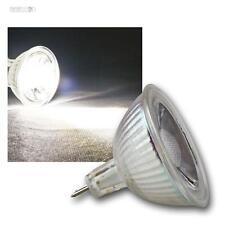 COB MR16 Glas Leuchtmittel kaltweiß 420lm Strahler Birne Spot Lampe 12V 5W GU5,3