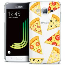 Coque Crystal Pour Samsung Galaxy J3 2016 (J320) Extra Fine Rigide Foodie Pizza