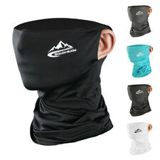 Cooling Face Mask Scarf Neck Gaiter Biker Shield Bandana Beanie Cover Head Wraps