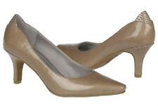 Life Stride Klarissa pumps heels TAUPE patent 6.5 Md NEW
