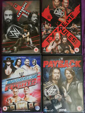 4 WWE PPV DVDs - Extreme Rules, Payback, Bragging Rights