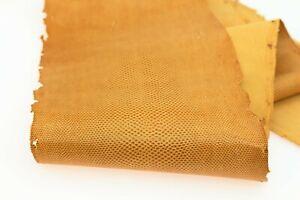 Karung Snake Leather Snake Skin Snakeskin Hide Craft Supply Glazed Brown