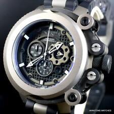 Invicta Coalition Forces Trigger Swiss Made Titanium 55mm Black Chrono Watch New