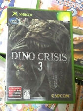 Dino Crisis 3 (2003, Capcom) Brand New Factory Sealed Japan Xbox Import
