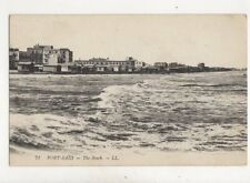 Port Said The Beach [LL 71] Vintage Postcard 324b