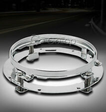 """7"""" LED Headlight Mounting Ring Fit Harley Road King Electra Glide Ultra Classic"""