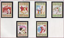 VIETNAM N°1058/1063** Ho Chi Minh, 1990 Vietnam 2106-2111 MNH
