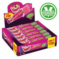 GAY PRIDE VIMTO CHEW BARS SWEETS FULL CASE OF 60 SEALED BOX SWEET