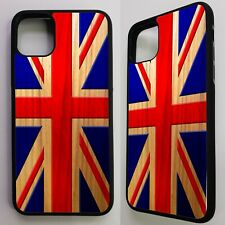 Union jack flag uk cross distressed graphic retro art case cover for iphone 11