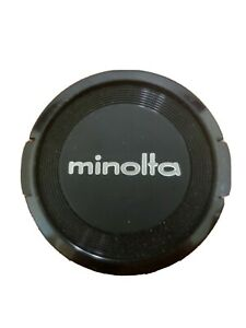 MINOLTA VINTAGE 49MM SNAP-ON PLASTIC FRONT LENS CAP
