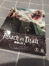 Attack on Titan - Blu Ray Steelbook