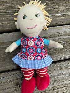 Kleidung für mini Stoff Puppen Gr. 20 cm Mirli Puppenkleidung Kleid + Leggings