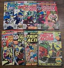 L1913: (8) Marvel Triple Action Comics, #4//47, F-VF