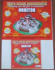 Fairground Orbitor Ride Model Card Kit on PDF Disc + A4 Card