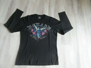 Tshirt homme manches longues REPLAY noir taille S TBE
