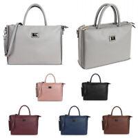 Genuine LYDC Multi Compartment Briefcase Work Shoulder Bag Laptop Handbag GL4797