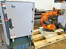 Kuka KR-6 ARC Robot w/ KRC2 Controller 6 Axis Robot 6kg Capacity
