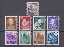 SPAIN - ESPAÑA - YEAR 1950 MNH - 3 LOW COST SETS (SEE PICTURE)