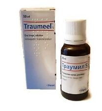 Traumeel S Oral Drops Heel Homeopathic Anti-Inflammatory Pain Relief USA seller
