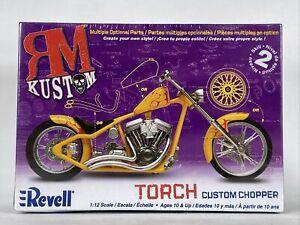 Revell 7316 RM Kustom Torch Custom Chopper Motorcycle Kit 1/12
