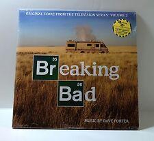 Dave Porter BREAKING BAD Volume 2 Original Score GREEN COLOR VINYL 2xLP Sealed