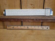 Vintage K&E Keuffel & Esser Co. Slide Rule N4081-3 Log Log Duplex Decitrig 1947