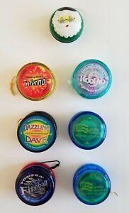 Huge Dazzling Dave Fireball Inferno Thunderbolt Lot of 6 Professional Yo-Yos