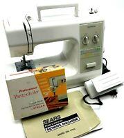 Kenmore Sewing Machine Zig Zag Model 385.17724490 W/ Manual & Buttonholer