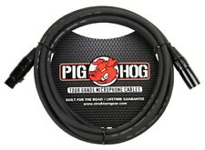 10 Ft Pig-Hog Microphone Mic XLR 8mm Tour Grade Quality Cable