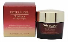 ESTEE LAUDER NUTRITIOUS VITALITY 8TH NIGHT RADIANT OVER NIGHT CREAM MASK 50ML