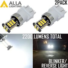 Alla Lighting LED 3157 Back Up Reverse Light Bulb/Turn Signal Blinker Lamp,White