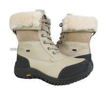 UGG Australia Adirondack II Sand Leather Fur Boots Womens Size 8.5 *NIB*