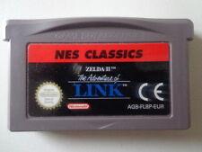 GameBoy Advance Spiel - NES CLASSICS Zelda II (2) The Adventure of Link (Modul)