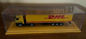 DHL Mercedes Benz Tractor Trailer with Display Case