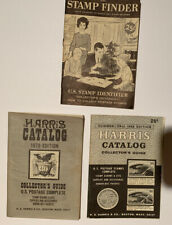 3 Booklets~ '66 & '70 Stamp Harris Catalog Collector's Guide & 1965 Stamp Finder