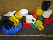 big estate lot of vintage Melamine Melmac Texas / Ingrid ware cups plates bowls
