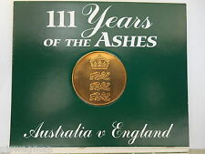1993 111 YEARS OF THE ASHES TOUR ( AUSTRALIA & ENGLAND )
