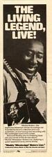 "1979 ""MUDDY MISSISSIPPI WATERS LIVE"" ALBUM PROMO AD"