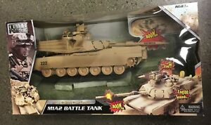 Elite Force M1A2 Battle Tank with Shells & Battle Sounds
