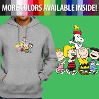 Peanuts Snoopy Woodstock Charlie Brown Group Pullover Sweatshirt Hoodie Sweater