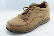 Rockport Fashion Sneakers Brown Leather Men Shoes Size 11 Medium